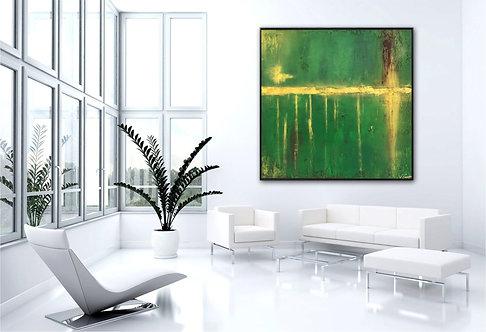 """Acryl Gemälde """"HOPE"""" 80x80cm Abstrakt"""