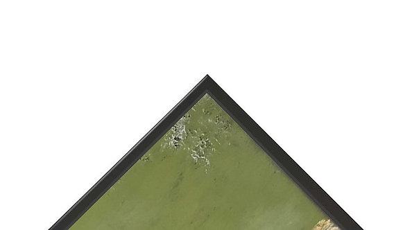 Alu Schattenfugenrahmen ELEGANCE (Gemälde Spring I 180x80)