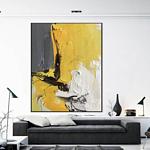 "Acrylbild Abstrakt auf Leinwand 80x120cm ""Abstrakt"""""