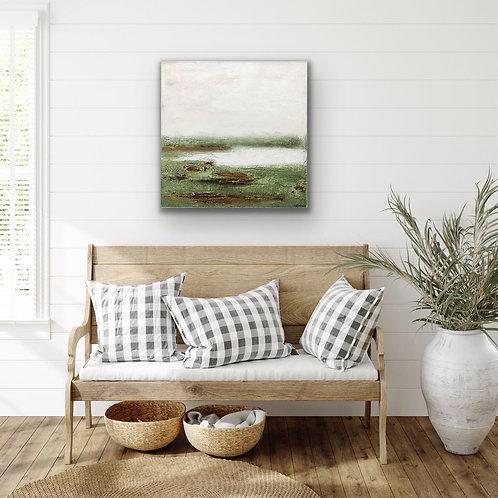 "Gemälde ""Landscape I"" 60x60cm  Abstrakt  by VICTORIA"