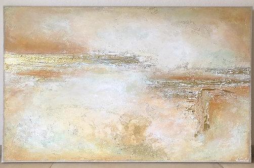 """XXL Acrylbild Abstrakt auf Leinwand 160x90cm """"CONFIDENCE"""""""
