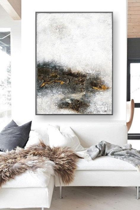 """VICTORIA Gemälde """"The Discovery I"""" 60x80cm Abstrakt"""