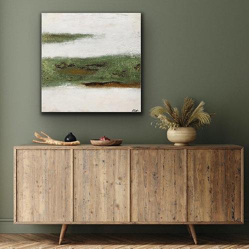 """Gemälde """"Landscape III"""" 60x60cm  Abstrakt  by VICTORIA"""