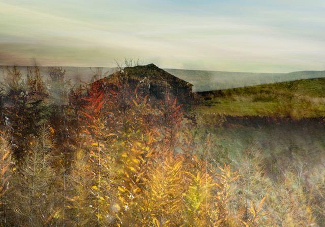 Cumbrian Barn #autumn #multipleexposure