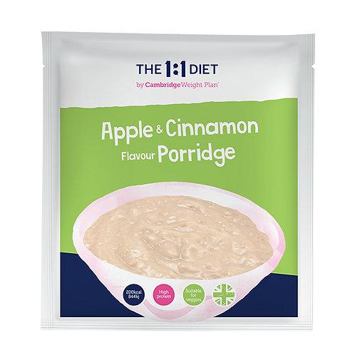 Owsianka o smaku jabłkowo-cynamonowym - 7 szt.