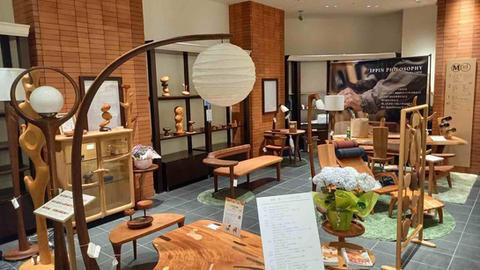 「丸善 日本橋店」木の匠展2021