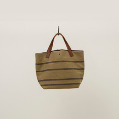 Recycled Cotton Stripes Tote Small