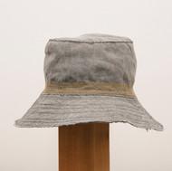 Linen Stitched Hat / Standard Brim