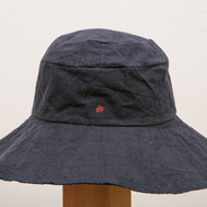 Wax Coated Cotton Hat / Wide Brim