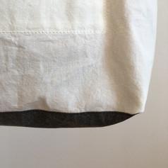 Cotton White & Charcoal