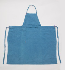 Linen Apron Standard / Side Pocket / LIGHT INDIGO