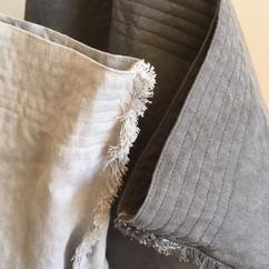 Linen Asymmetrical Totes