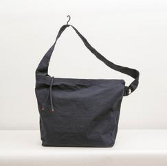 Wax Coated Cotton Asymmetrical Zip Shoulder