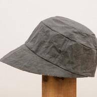 Wax Coated Cotton Cap / GRAY