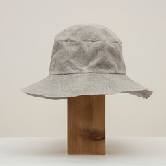 Soot Dyed Light Cotton Hat