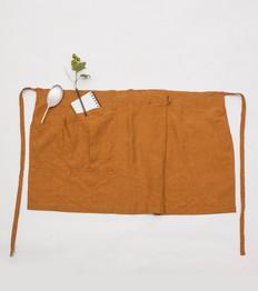 Linen Apron Short