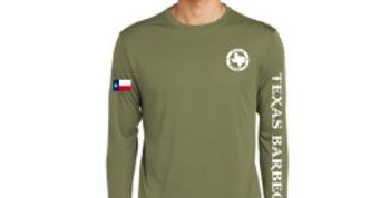 Long Sleeve Logo Tee - Olive