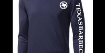Long Sleeve Logo Tee - Navy