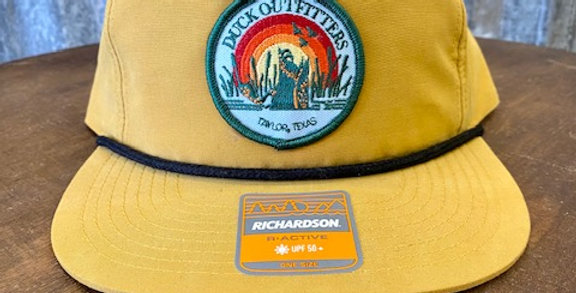 Duck Outfitters - Mustard Flat Rope Hat