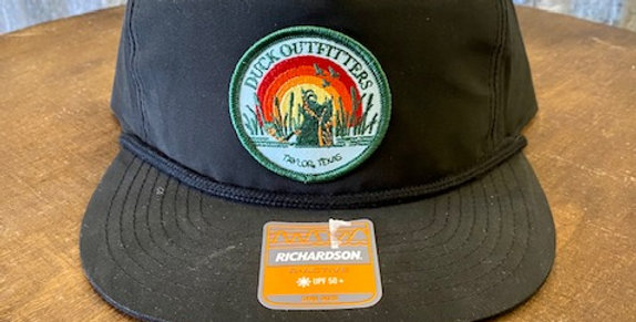 Duck Outfitters - Black Flat Rope Hat