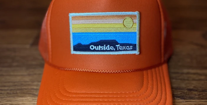 Outside Texas - Orange Hat
