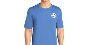 Short Sleeve Logo Tee - Carolina Blue