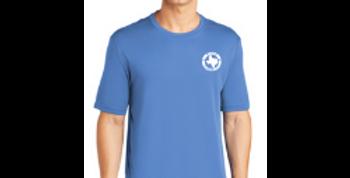 Short Sleeve Logo Tee - Carolina Blue