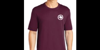Short Sleeve Logo Tee - Maroon