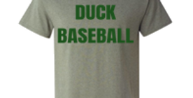 Duck Baseball Logo Tee, Long Sleeve, Hoodie and Sweatshirt