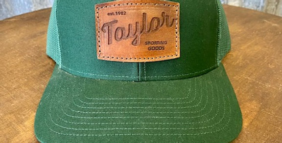 Taylor Sporting Goods - Leather Patch Hat