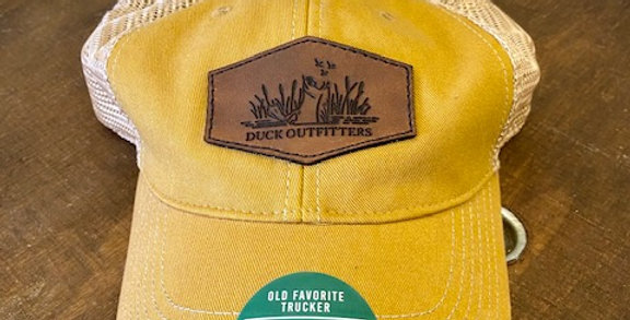 Duck Outfitters -Logo Leather Patch Hat