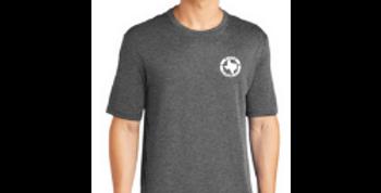 Short Sleeve Logo Tee - Gray