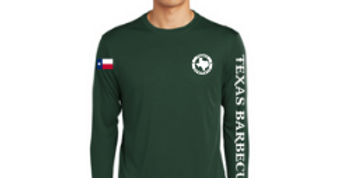 Long Sleeve Logo Tee - Forest Green