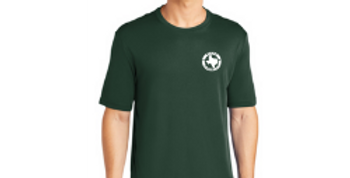 Short Sleeve Logo Tee - Forest Green