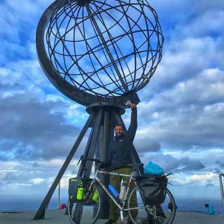 Il nuovo sogno di Mattia Rifino: girare l'Islanda in bici sensibilizzando sull'ambiente