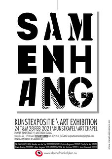 SAMENHANG Flyer A5 DEF - expo Kunstkapel