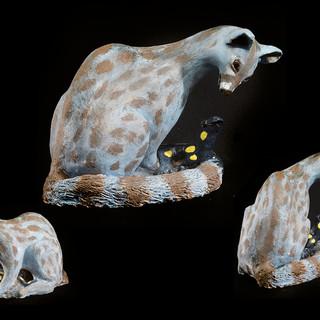 Genet en Vuursalamander | Pelgrimsdieren
