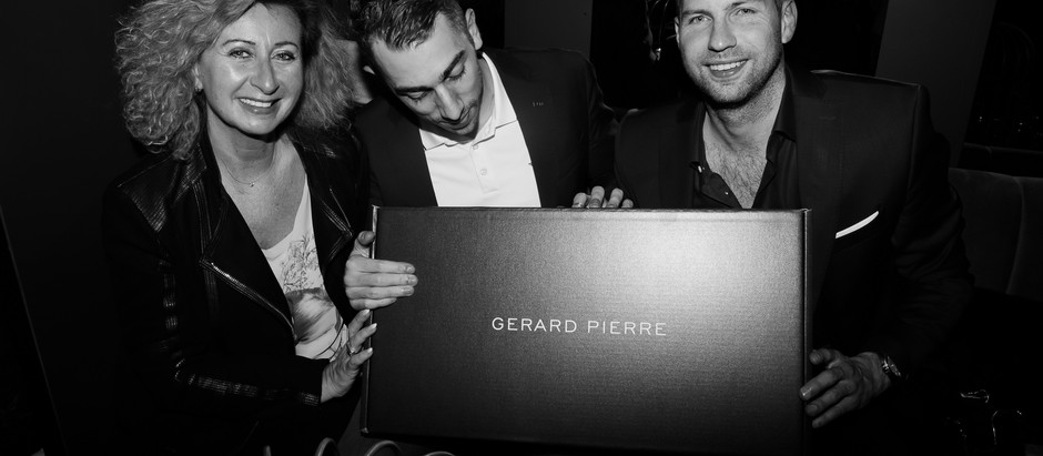 GERARD PIERRE LAUNCHING NIGHT