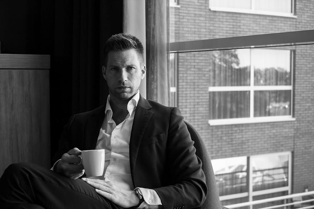 Entrepreneur Jeremie Vanopdenbosch