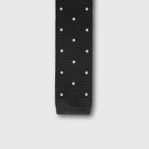 Jasper Square Edge Knitted Tie