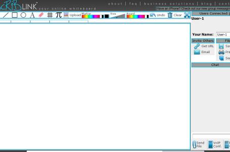 Scriblink (online WhiteBoard)