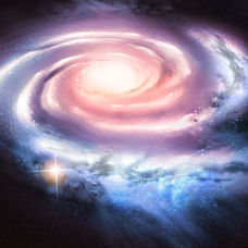 Light Years Away - Distant spiral galaxy