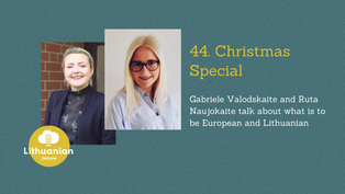 044 - Christmas Special with Ruta and Gabriele