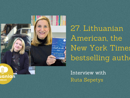 027- Ruta Sepetys - interview with #1 New York Times bestselling author