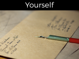Writing a Letter to Yourself (Free Printable)