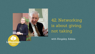 042 - Networking is about giving, not taking with Kingsley Aikins