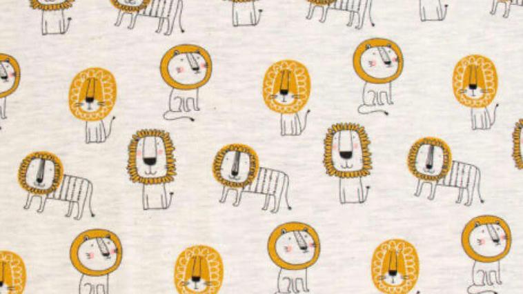 Jupe motifs lions, 18 mois à 6 ans