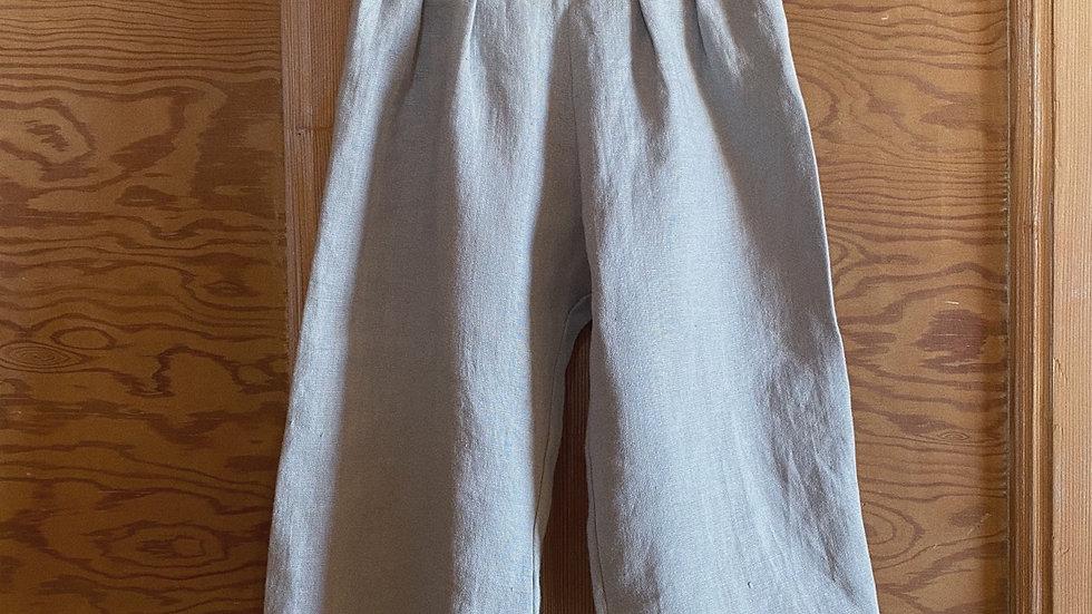Jupe culotte en lin: 2 coloris à choix
