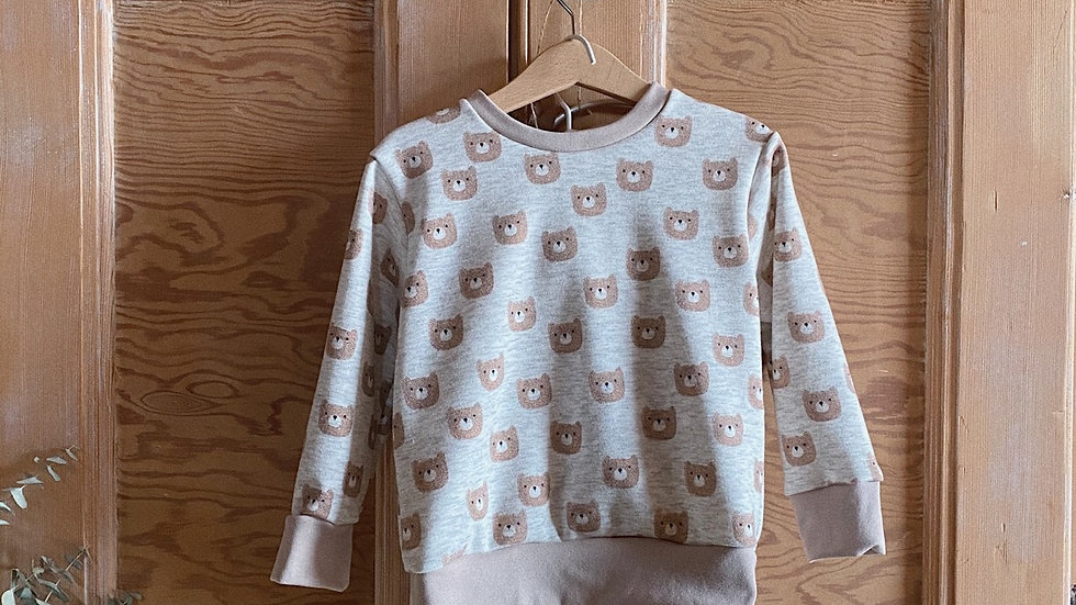 Pull chaud «petit ours»