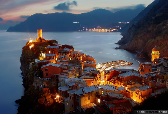 Vernazza Glowing